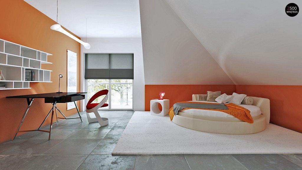 спальня дома z283 дизайн интерьера